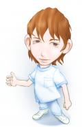 知的健康医療概念とも訳される『イアトリズム』を紹介するキャラクターの一人 リスト先生 の肖像