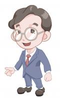 知的健康医療概念とも訳される『イアトリズム』を紹介するキャラクターの一人 ムライさん の肖像
