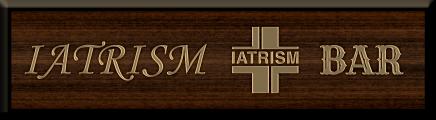 イアトリズム事典 知っておきたい『医学の雑学』でトップ頁を飾る「IATRISM BAR」の看板