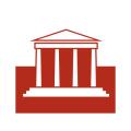 イアトリズム関連サイトに用いられるイメージアイコン『古代ギリシア遺跡パルテノン神殿を思わせる建築物』