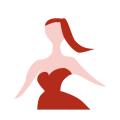 イアトリズム関連サイトに用いられるイメージアイコン『美容に関する全てのジャンルをイメージした婦人像』