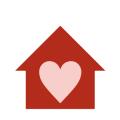 イアトリズム関連サイトに用いられるイメージアイコン『介護や福祉に関連する施設および人達の優しい心』